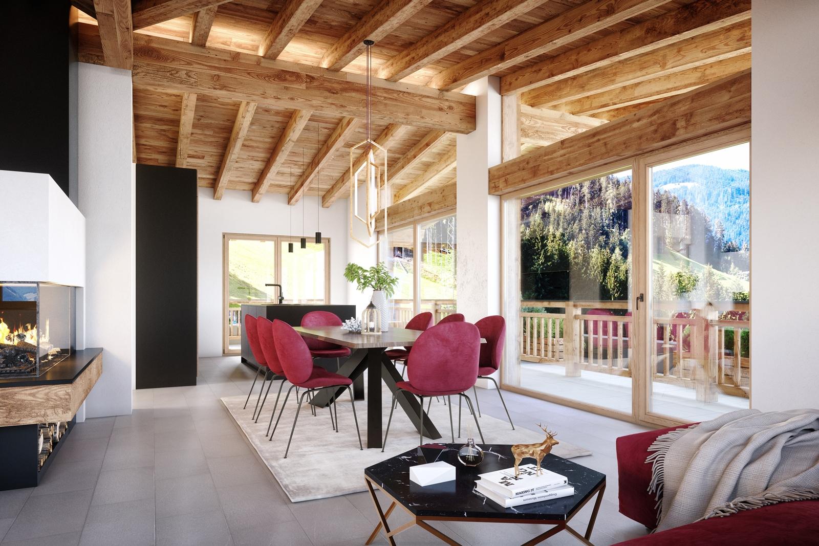 Architekturvisualisierung BV Emberg Interior c010 01 – Anthrazit – ohne Logo